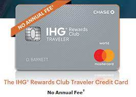 Let's skip straight to the important stuff the ihg premier card will give you global entry credit (check out the comments, it looks like plenty of people still need it!). Chase Removes Annual Fee On Ihg Rewards Club Traveler Credit Card Doctor Of Credit