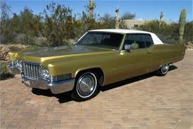 1970 cadillac coupe de ville 2 door coupe front 3 4 117176