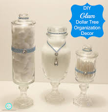 So earlier this month I shared with you guys a post on how I made Apothecary  Jars out of Dollar Tree items.