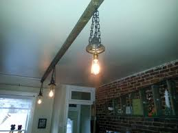 ceiling light fixture from reclaimed wood lighting