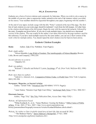 Mla Endnotes Directions