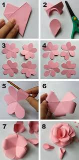 How To Create A Flower With Paper 23 Best Paper Flowers How To Make Images Crafts Crepe Paper