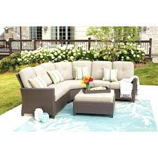 patio sets without cushions wicker patio genuine bay 4 piece wicker sectional set w beige cushions wicker patio chairs patio furniture cushions replacements
