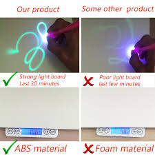 Light Drawing Toy Us 12 39 38 Off A4 Night Light Drawing Board Set Magic Draw With Light Kids Baby Educational Writing Paint Toy In Box In Drawing Toys From Toys