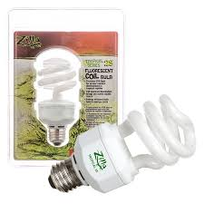 zilla zilla tropical 25 fluorescent coil bulb with uvb