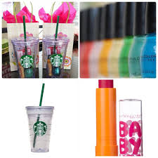 a perfect and two minute gift for a teenage girl a starbuck s plastic cup diy birthday