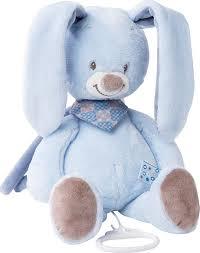 <b>Игрушка мягкая Nattou Musical</b> Soft toy Alex & Bibou Кролик ...