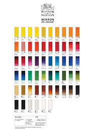 Dropbox Winton Oil Color Chart Pdf Paint Colors