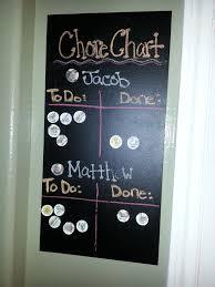 Magnet Chalkboard Preschool Chore Chart Found The Board At