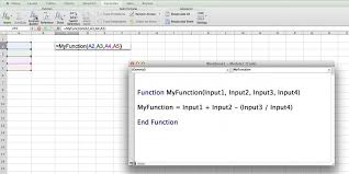 creating formulas in excel custom functions in excel business insider