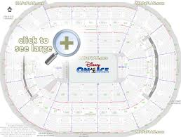 Washington Dc Verizon Center Seat Numbers Detailed Seating