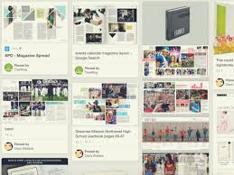 Magazines Layouts Ideas The Best Yearbook Page Layouts We Found On Pinterest