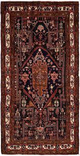 navy blue 5 4 x 10 10 nahavand persian runner rug persian rugs erugs