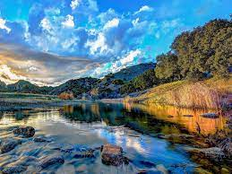 Nature Beautiful River Hd Wallpaper ...