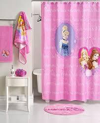 Elegant Bathroom Ideas Disney Kids Sets With Princess Patterned In Decor ...