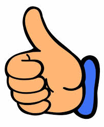 Image result for image of a big thumbs up