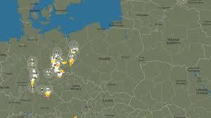Mapa dynamiczna dostępna jest na stronie głównej. Sprawdz Gdzie Jest Burza