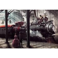 <b>Картина на дереве</b> Поезд Стимпанк 100х150 — купить по цене ...