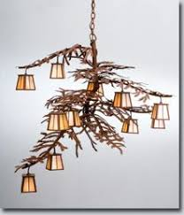 Image Ocean Inspired Twelve Small Lanterns Adorn The Pine Branch Shaped Arms Of This Unique Nature Inspired Chandelier The Handsome Twelve Light Chandelier In Rust Finish Has Pinterest 10 Best Nature Inspired Lights Images Transitional Chandeliers