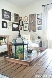 How To Decorate A Coffee Table Tray Decorated Coffee Tables How To Decorate A Glass Coffee Table For 94