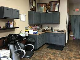 rustoleum chalk paint charcoal over stained cabinets no primer just paint and