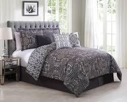 sleek comforter set purple