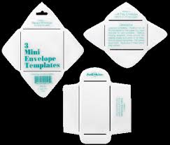 mini envelopes templates sample small envelope template