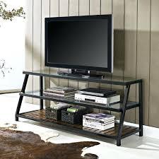glass tv stands small corner stand black glass stand