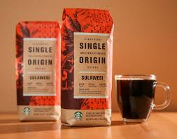 starbucks coffee bag dark. Beautiful Dark Sulawesi Coffee From Indonesia At Starbucks Throughout Bag Dark S