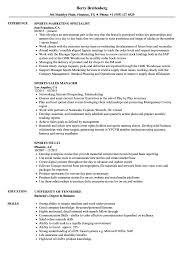 Sample Sports Resume Sports Resume Samples Velvet Jobs