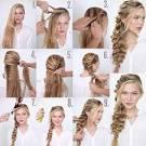 Плетение на длинные волосы фото