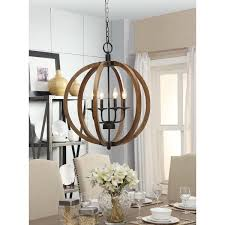 vineyard distressed gany and bronze 4 light orb chandelier free today com 16602872