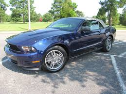 2011 Kona Blue V6 Premium Convertible - The Mustang Source - Ford ...