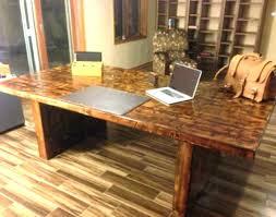 custom office tables. Reclaimed Desk Furniture Creative Wood Office Custom Table Tables D
