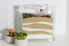 indoor fairy garden. DIY Indoor Fairy Garden With Scenic Sand