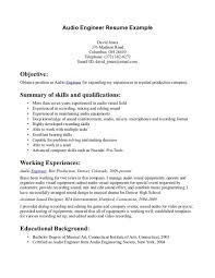 Studio Recording Engineer Sample Resume Audio Recording Engineer Sample Resume 24 Test 24 Creative Designs 24 3
