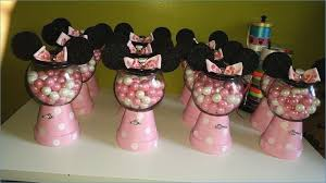 diy minnie mouse gumball machine pot for base and glass bowl for