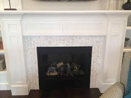 hearth google search surroundcarrera marble hexagon mosaic tile fireplace marble subway tile fireplace surround surroundcarrera marble