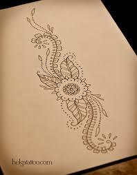 растительный орнамент хельга хаген художница тату мастер