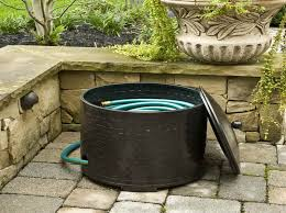 garden hose storage garden hose storage ideas with pads outdoor furniture garden