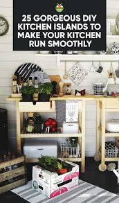 creative diy kitchen islands