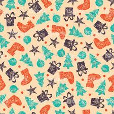 vintage christmas pattern. Exellent Christmas Vector Vintage Christmas Seamless Pattern For Wrapping Paper Inside T