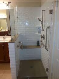 waterproofing tile shower walls elegant classic subway rebath wall system with yx collection shower base