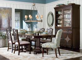 Moultrie Park Double Pedestal Dining Table by Bassett Furniture