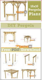 home design winsome pergola plans pdf 20 how to build a attached house charming designs