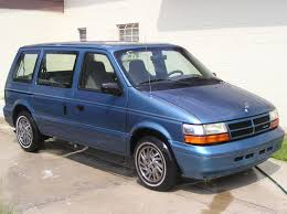 1994 dodge caravan - had one exactly like this, the kids grew up ...