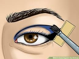 image led apply egyptian eye makeup step 8