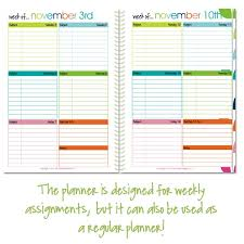 Planner Printables For Students 5x7 Student Lesson Planner Pages Confessions Of A Homeschooler