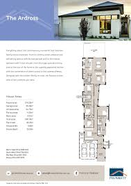narrow house floor plans australia homes zone for rear view lots about lot sumptuous pictures