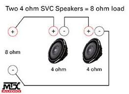 subwoofer wiring diagrams 4 ohm wiring diagram dual 2 ohm wiring diagram auto schematic